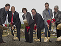 Maplewood ceremonial groundbreaking