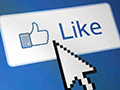 clicking 'like'